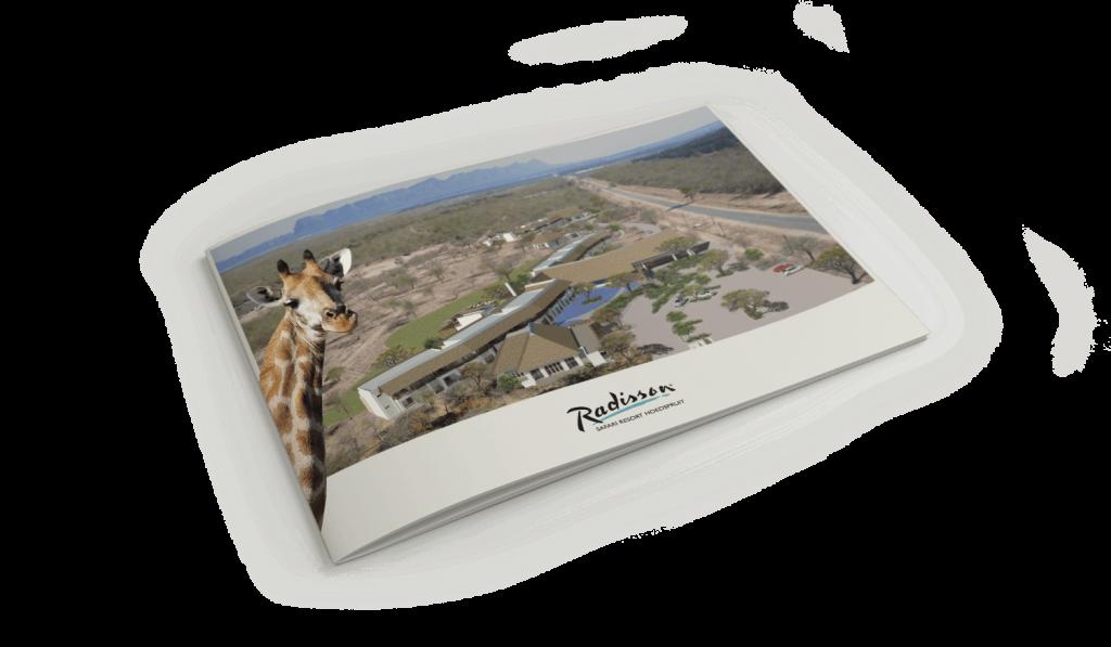 radisson hotel brochure design